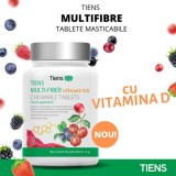 Multi-Fiber Tablete Masticabile cu Vitamina D3